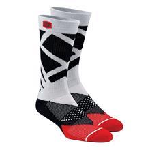 100% Rift Socken Stahlgrau 2019