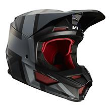Fox V1 Helm Rot/Schwarz - Special Edition MXON 2019