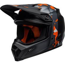 Bell MX-9 MIPS Helm Presence - Schwarz/Fluo Orange/Camo 2019