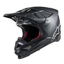 Alpinestars Supertech M8 Helm Solid - Matt Schwarz 2019