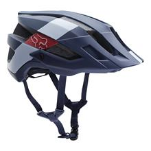 Fox Flux Trail-MTB Helm Limited Edition WIDE OPEN - Navy/Weiß Fall 2018