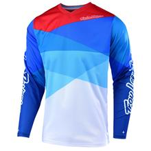 f74a28986 Troy Lee Designs GP Air Jersey Jet - White Blau 2019
