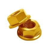 DRC Bundmuttern M6, Gold, 4er Pack