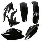Acerbis Plastik-Kit KTM EXC 125/200/250/300/400/450,EXC-F 250, Schwarz