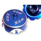 ZAP Tankdeckel Aluminium, Blau, Honda CRF 02-05, Suzuki RMZ 250 07-09