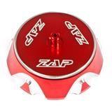 ZAP Tankdeckel Aluminium, Rot, Honda CRF 02-05, Suzuki RMZ 07-09