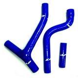 ZAP Kühlerschlauch-Set Blau, Yamaha YZF250 10-