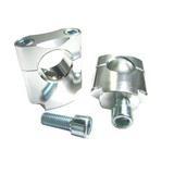 ZAP Lenkererhöhung Silber, 28.6 mm, 35 mm Hoch