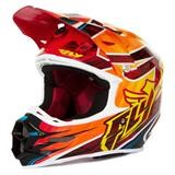 Fly Racing F2 Carbon Acetylene Helm Rot/Gelb 2014