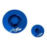 Kite Performance Inspektionsöffnungs-Schrauben Blau, Suzuki RMZ 250/450