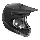 Thor Verge Solid Helm Matt Schwarz 2018