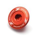 Zeta Inspektionsöffnungs-Schrauben Orange, KTM SX-F 250/350/450, EXC-F 250/350