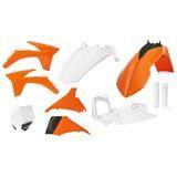 Acerbis Full-Kit Plastik-Kit KTM SX 125/150/250 2012 / SX-F 11-12, Replica 12