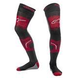 Alpinestars Knee Brace Unterziehstrumpf für Knieorthese Rot/Schwarz/Grau 2019