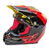 Fly Racing F2 Carbon Pure Helm Gelb/Schwarz/Rot 2016