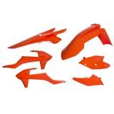 Acerbis Plastik-Kit KTM SX 125/250, SX-F 250/350/450 16-18, Orange 16