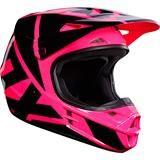 Fox V1 Race Helm Pink 2017