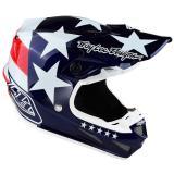 Troy Lee Designs SE4 Composite MIPS Helm Freedom - Blau 2019