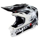 Just1 J32 Pro Helm Moto-X Weiß 2018