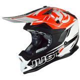 Just1 J32 Pro Helm Rave Schwarz/Orange 2018