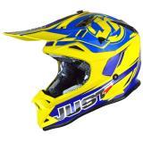 Just1 J32 Pro Helm Rave Blau/Gelb 2018