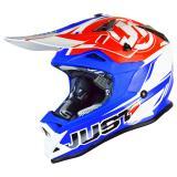 Just1 J32 Pro Helm Rave Rot/Blau 2018