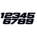 One Industries Phat Number Startnummer Schwarz