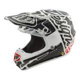 Troy Lee Designs SE4 Polyacrylite MIPS Helm Factory - Weiß 2019