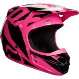 Fox V1 Race Helm Pink 2018