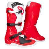 Alpinestars Tech 3 Motocross-Stiefel Rot/Weiß 2019
