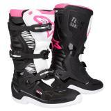 Alpinestars Stella Tech 3 Girls Motocross-Stiefel Schwarz/Weiß/Pink 2019