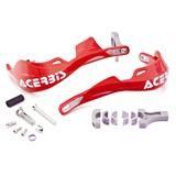 Acerbis Rally Pro Handschalen Rot, Inkl. Anbaukit