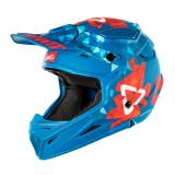 Leatt GPX 4.5 V22 Helm Blau/Rot 2018
