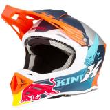 Kini Red Bull Competition Helm Orange/Weiß/Navy 2018