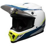 Bell MX-9 Mips Helm Torch Weiß/Blau/Gelb 2018
