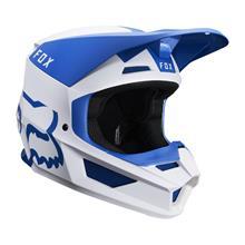 Fox V1 Helm Mata - Blau/Weiß 2019