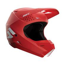 Shift Whit3 Label Kids Helm Rot 2019