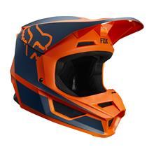 Fox V1 Kids Helm Przm - Orange 2019