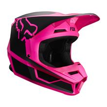 Fox V1 Kids Helm Przm - Schwarz/Pink 2019