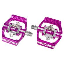 HT Components X2 Klickpedale Violett