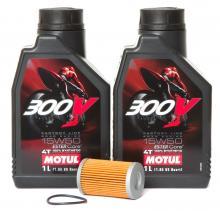 Motorenöl-Set 15W50 inkl. Ölfilter für KTM, Husaberg, Husqvarna Neu