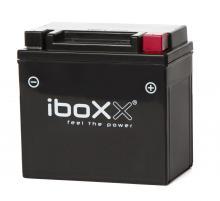 Iboxx Motorrad-Batterie Gel, YTX7L-BS, 12 Volt, 6 Ah Neu