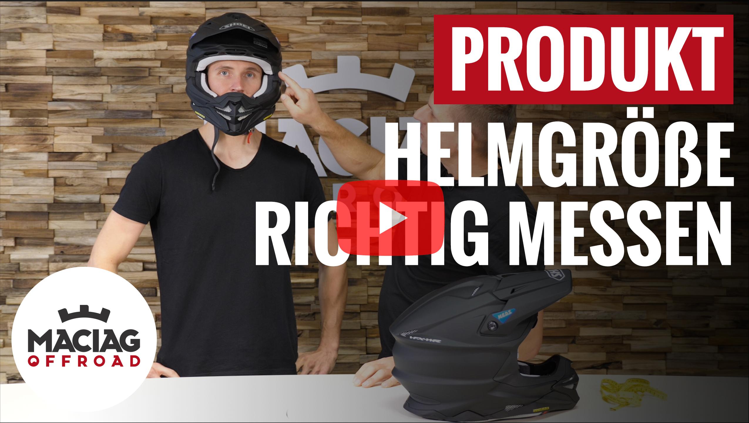Helm richtig messen
