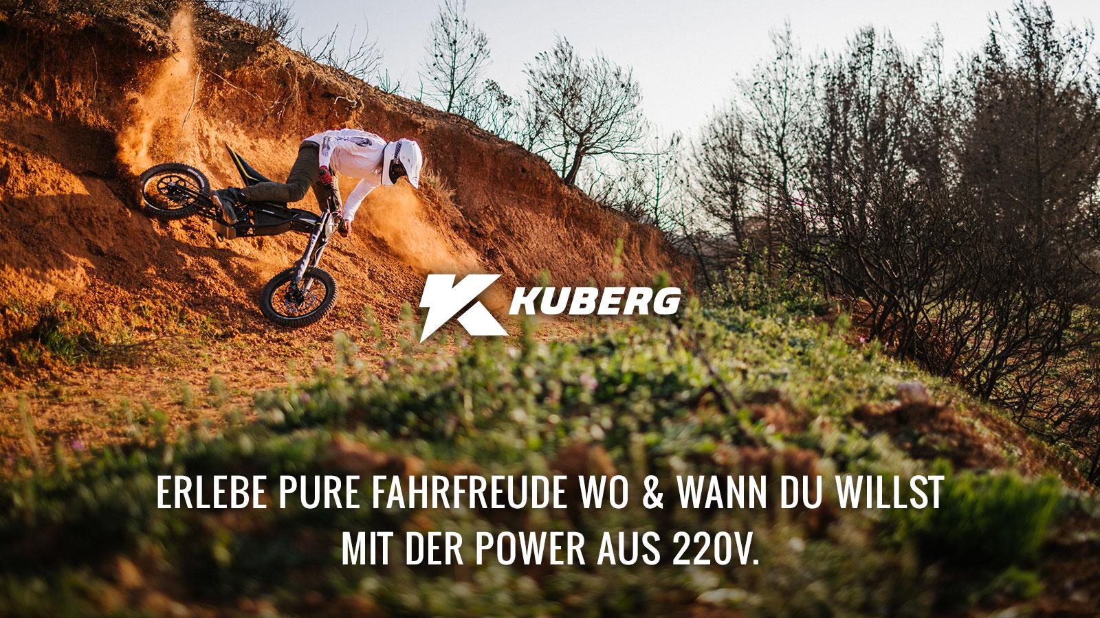 Kuberg - Erlebe den Adrenalinrausch mit der Power eines E-Motors