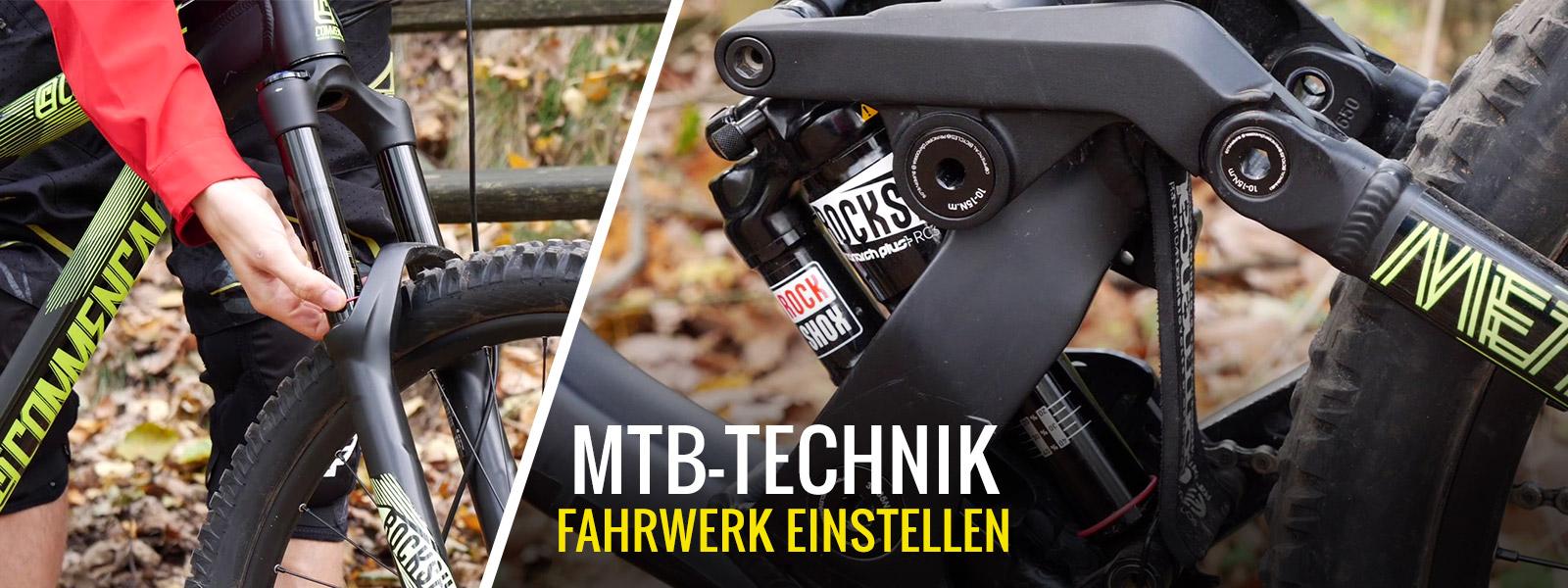 Mach dein Bike fit - MTB Fahrwerk