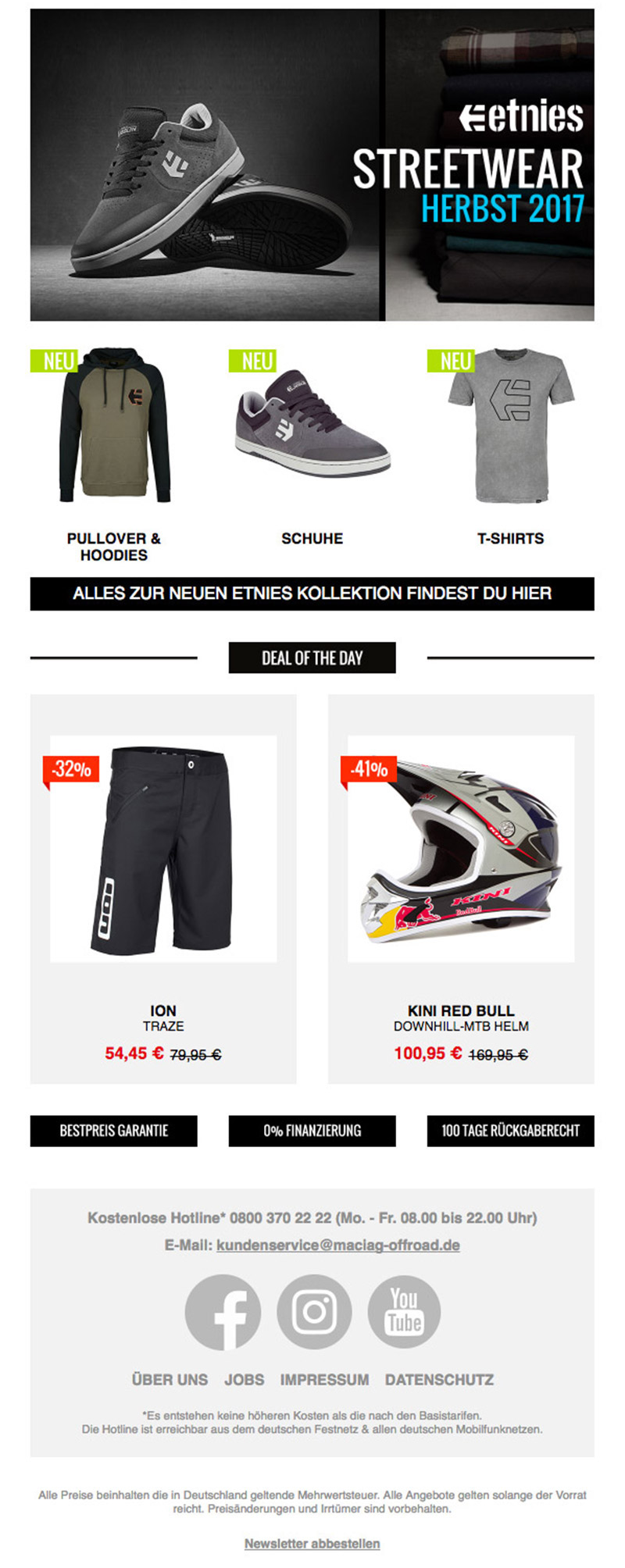 Newsletter Mountainbike Vorschau