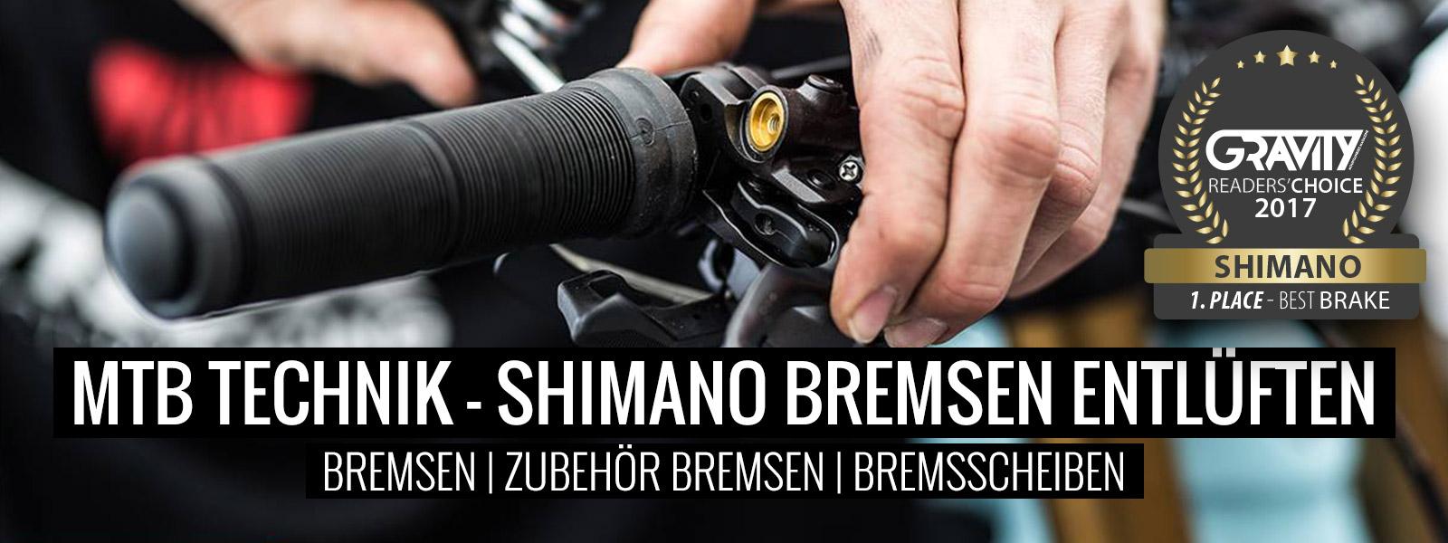 Shimano MTB Bremsen entlüften