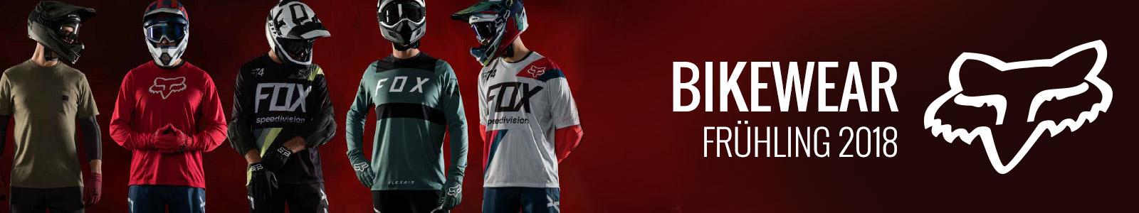 Fox Bikewear Frühling 2018
