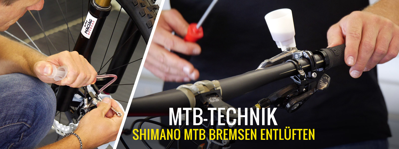 Shimano-Bremsen entlüften