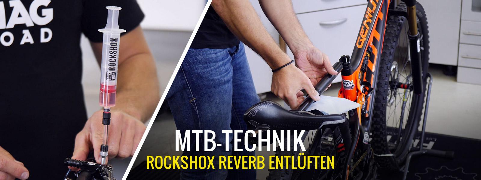 MTB RockShox Reverb Sattelstütze entlüften